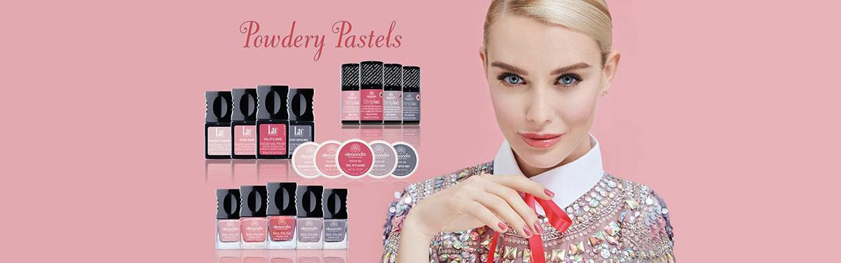 Powdery Pastels