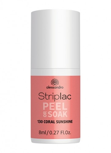 alessandro Striplac Peel or Soak Coral Sunshine 130 / 8 ml