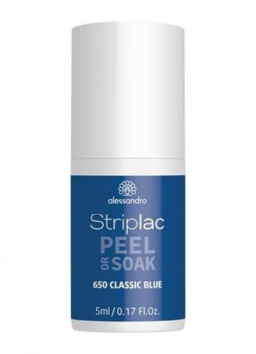 Alessandro Striplac Peel or Soak Classic Blue 5 ml