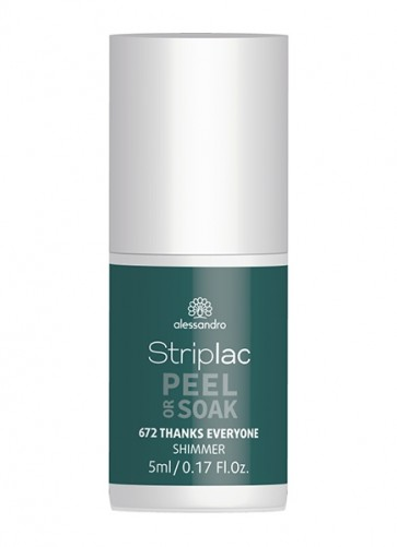 alessandro Striplac Peel or Soak Thanks everyone 5ml