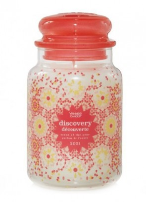 Yankee Candle Discovery Decouverte scent of the year 2021 623g