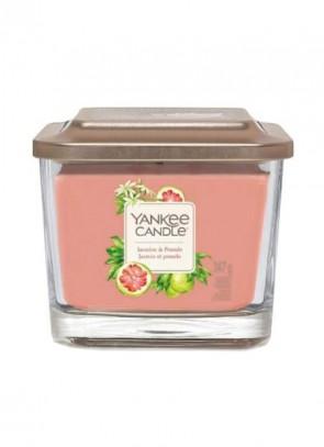 Yankee Candle Elevation Medium Jar Jasmine & Pomelo 347g