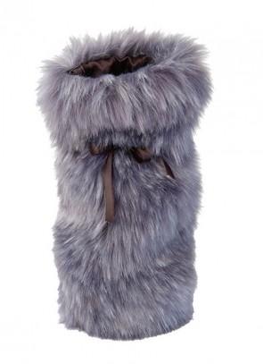 Winter Home Giftbag Purplewolf - Geschenkbeutel für Wein & Champagner