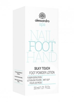 alessandro Spa Silky Touch Foot Fusspuderlotion