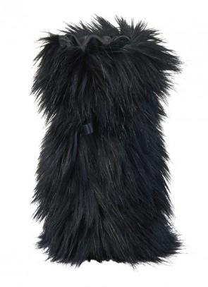 Winter Home Giftbag Blackwolf - Geschenk Tasche für Wein & Champagner