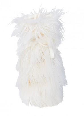 Winter Home Giftbag Curlywhite - Geschenk Tasche für Wein & Champagner