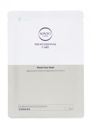 Ionto Comed Sheet Face Mask Deep Sea 3 x 30 ml