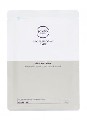 Ionto Comed Sheet Face Mask Deep Sea 3 x 30 ml